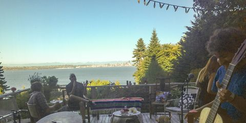 A show with a breathtaking view of Seattle