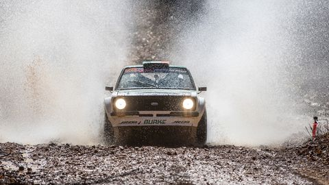 Action from the the America Rally Association 100 Acre Wood Rally held in Salem, Steelville and Potosi Missouri on March 15-16.