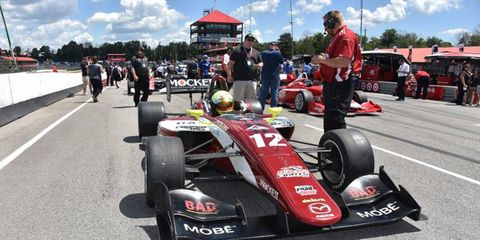 Spencer Pigot is second in the Indy Lights championship.