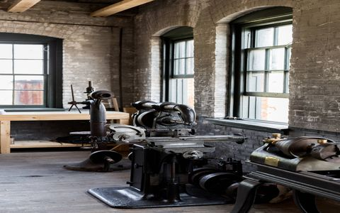 The secret room at the Piquette plant is where the Model T was born.