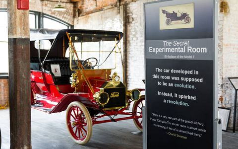 The Piquette Plant is home to about 50 vintage Fords