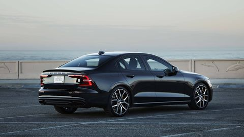 The Polestar Engineered Volvo S60 packs 415 hp, special dampers and big Brembo brakes.