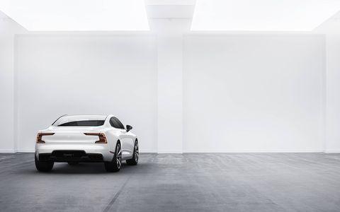 Volvo's Polestar EV subbrand unveiled the Polestar 1.
