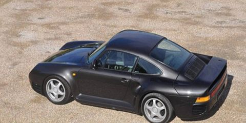 Porsche 959s are experiencing a dramatic surge in values right now.