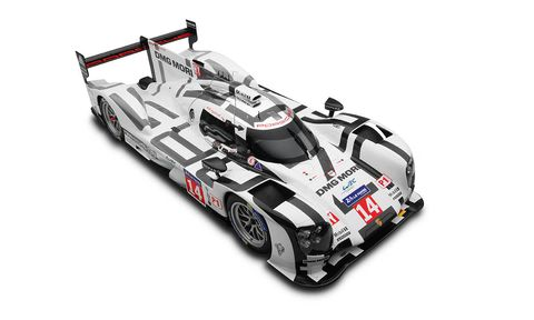 Only 100 of these 1:8-scale 919 models have been made.