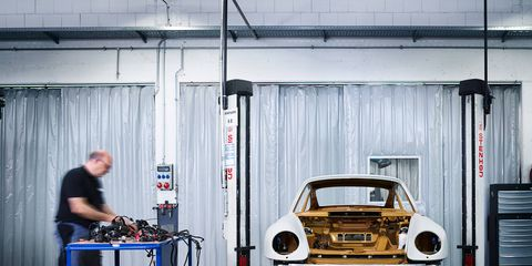 Porsche Project Gold gets a 3.6-liter twin-turbo flat six