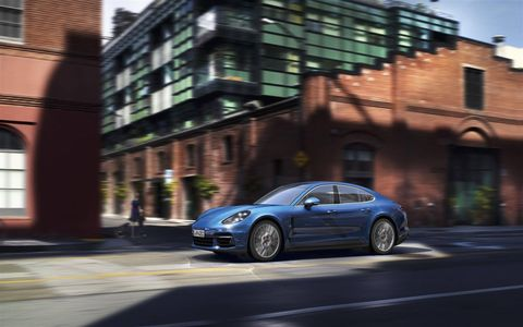 Check out the redesigned 2017 Porsche Panamera.