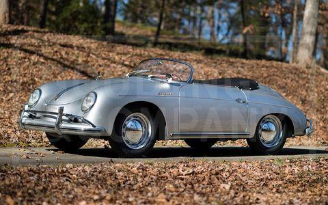 1957 Porsche 356A Speedster -- $352,000.