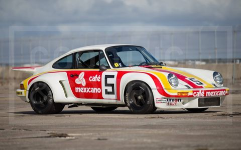 1974 Porsche 911 Carrera 3.0 RSR -- $1,237,500.
