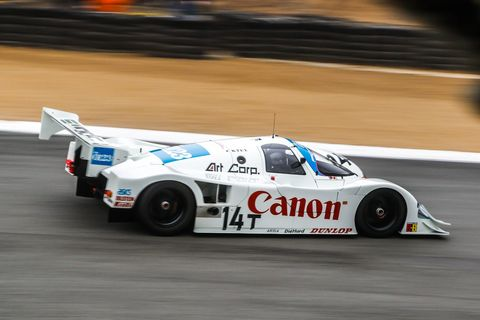 Bruce Canepa's '89 model raced in Group C in Europe and Japan.