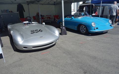 Race cars from every era descended on Mazda Raceway Laguna Seca for the 2015 Rolex Monterey Motorsports Reunion.