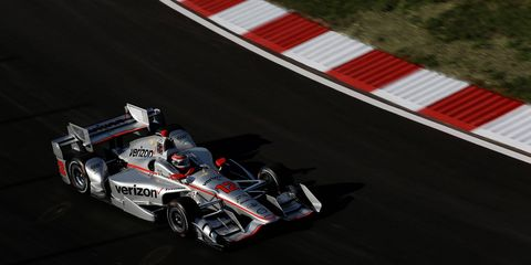 Will Power turned in a record-breaking performance on Friday.