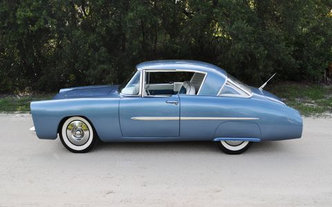 With a little over a week before the 2015 Pebble Beach Concours d'Elegance, the restoration of the 1950 Leo Lyons Mercury custom nears completion. Here's a look at the car before it receives its finishing touches and makes the trip west.
