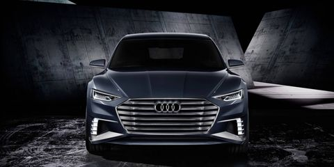The CES concept car is expected to feature design cues previewed earlier by the Audi Prologue concept, which is expected to point the way to the design of the next-generation A8 due in 2017.