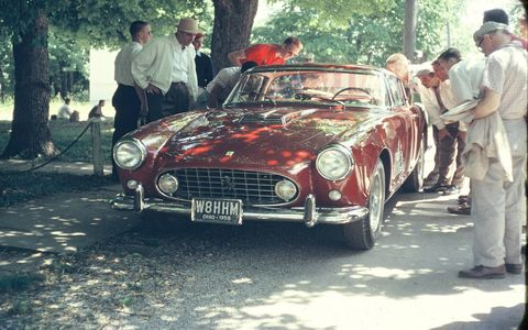 The Put-in-Bay Road Races were held on South Bass Island, Ohio's public roads from 1952 to 1959, and then one final time on an abridged course in 1963. Stu Kerr's period photos give us a taste of what it was like on the island back in the 1950s.