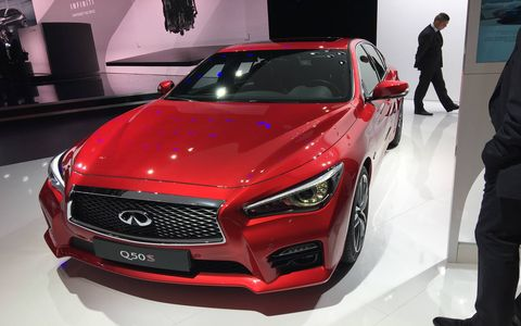 Infiniti updated both the QX Sport Inspiration Concept and the Q50 sedan at the Paris auto show.