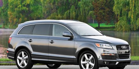 Der Spiegel reports that as many as 25,000 early versions of the Audi Q7 TDI may not be possible to bring into compliance.