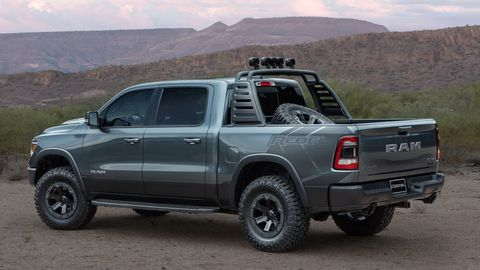 The Rebel Smoke concept is one of 14 vehicles that Mopar will show at SEMA this year.