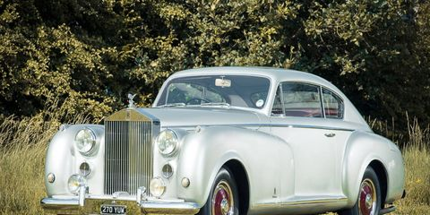 This 1951 Rolls-Royce Silver Dawn Coupe is unique, and it appears it hasn't even been driven all that much since the year of its debut.