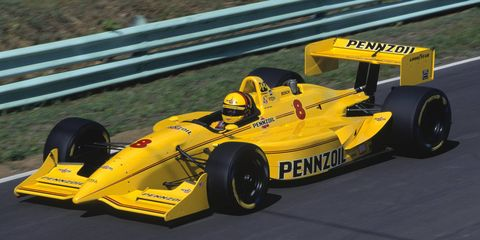 Gil de Ferran, shown in an Indy car in 1995, has some strong opinions on Formula One.