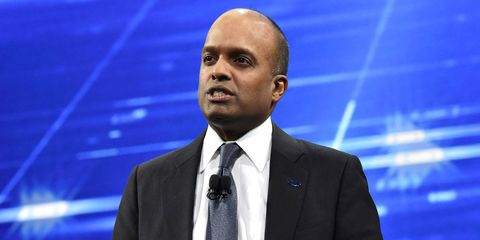 Raj Nair, 53, Ford executive vice president and president, North America, announced his departure on Feb. 21, effective immediately. (File photo).