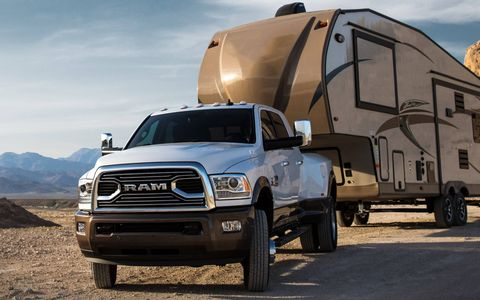 The 2018 Ram 3500 HD has more torque than any other heavy-duty pickup at 930 lb-ft.
