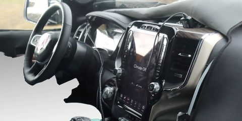 These interior shots show a bunch of tech upgrades for the 2019 Ram 1500.