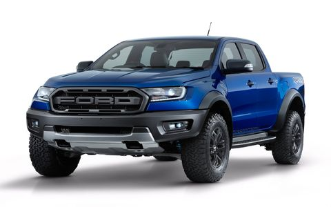 The Ford Ranger Raptor packs much of the F-150 Raptor's off-road prowess into a smaller package. Power comes from a 2.0-liter turbodiesel, and there are Fox Racing Shox shock absorbers all around.  No word on when it will be sold in the United States, but the regular Ranger returns to our shores in early 2019.