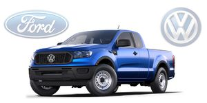 Ford will build a Ranger-based midsize pickup for both brands.