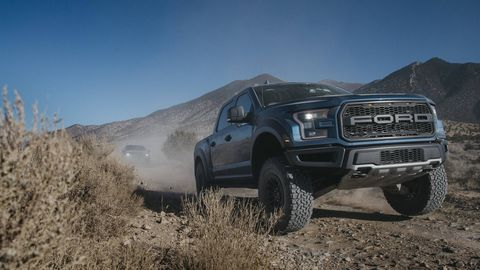 The 2019 Ford F-150 Raptor gets an interesting off-road cruise control and hi-tech Fox Racing Live Valve shocks during its midcycle refresh.