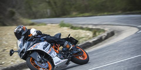 The new KTM RC 390 is just about the sportiest entry level sport bike you can buy.