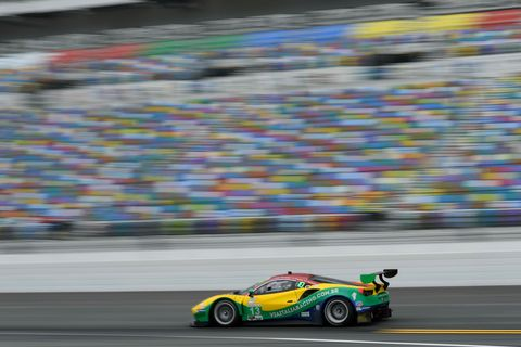 Sights from the action at the IMSA Rolex 24 at Daytona Thursday, Jan. 24, 2019.