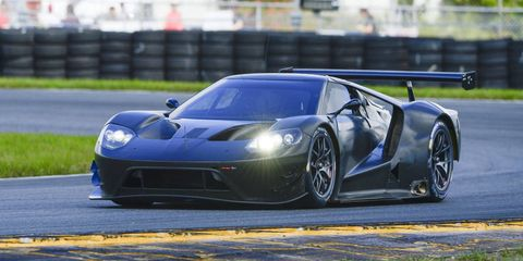 The Ford GT tests at Daytona International Speedway this week with Chip Ganassi Racing teams.