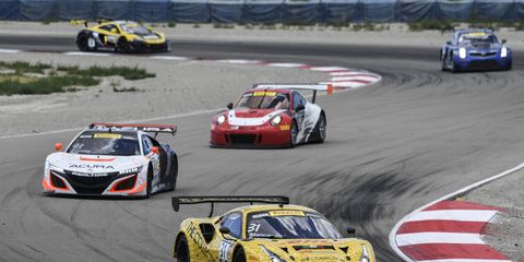 Sights from the Pirelli World Challenge action at Utah Motorsports Campus Sunday, August 13, 2017.