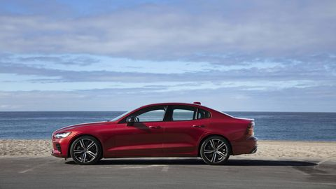 The 2019 Volvo S60 rounds out the company's lineup as its last fully redesigned vehicle.