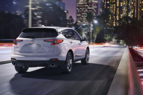 The 2019 Acura RDX debuted at the New York auto show with a touchpad controlled infotainment system.