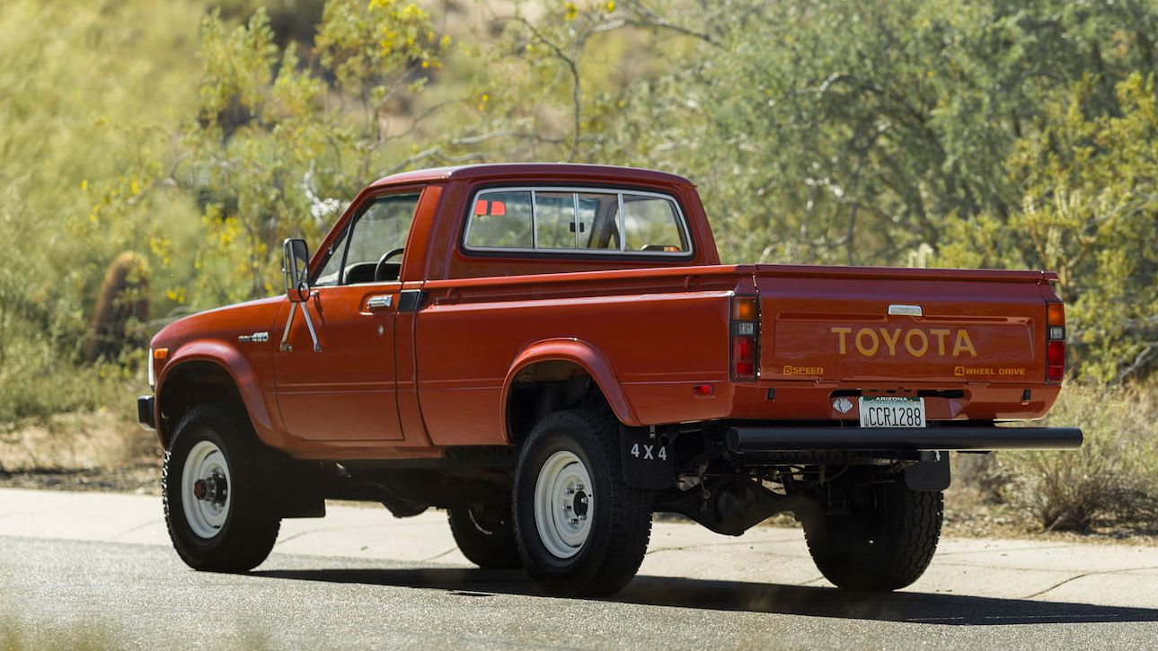 A Hilux By Any Other Name The Pristine 1983 Toyota Pickup 4x4 Of Your Dreams Is Up For Grabs
