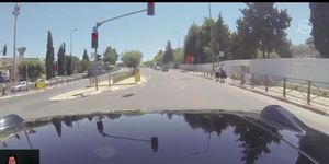 The Mobileye prototype was featured on the Channel 10 news in Israel; it did not go well.
