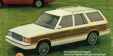 Land vehicle, Car, Vehicle, Full-size car, Classic car, Sedan, Plymouth reliant, Coupé,