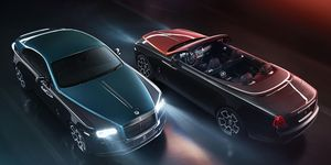 Rolls-Royce plans to make 40 Black Badge Wraiths and 30 Black Badge Dawns as part of the Black Badge Adamas limited-edition line.