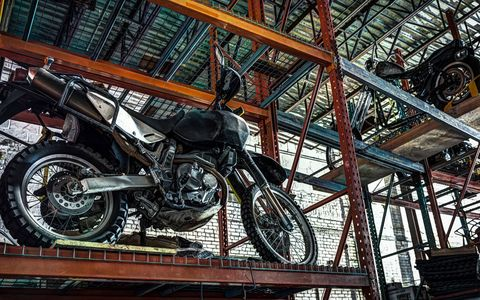 Brooklyn's Vax Moto is a wall-to-wall, floor-to-ceiling biker's urban oasis, with space to store/work on your motorcycle and even down some tacos.