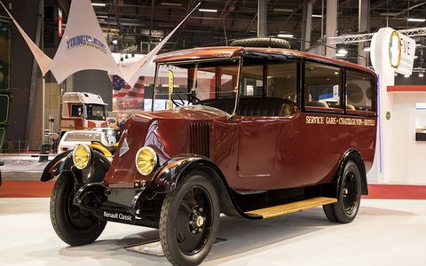 Renault celebrated its 120th anniversary at Retromobile, and brought many of its most important cars to the event. Including an example of its very first model.