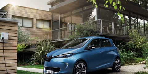 The pure-electric Renault Zoe, Europe's best-selling electric car, has a fully charged range of almost 250 miles and starts at the equivalent of $25,000 in most markets.