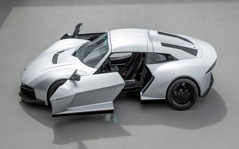 It may not come standard with those wild SideWinder doors, but for $95,000 the Rezvani Beast Alpha looks the part of a supercar.