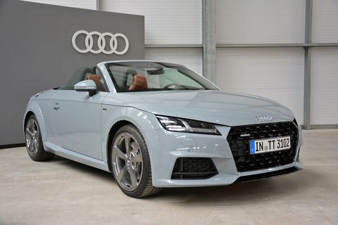 The 20-year edition Audi TT