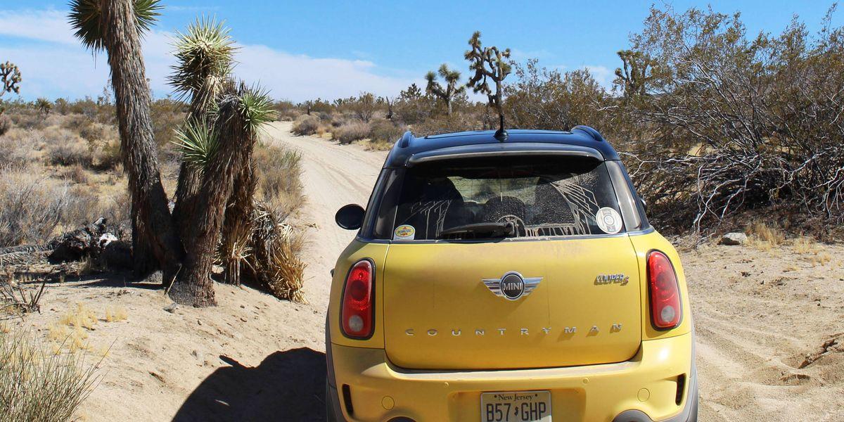 Rhys Millen and a Mini versus a grueling California desert trail