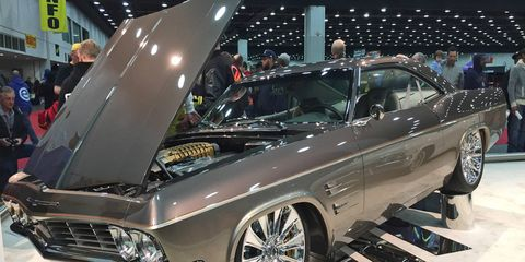 """""""Imposter,"""" a Chip Foose-styled 1965 Chevrolet Impala, took the coveted Ridler Award."""
