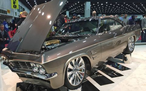 """Imposter,"" a Chip Foose-styled 1965 Chevrolet Impala, took the coveted Ridler Award."