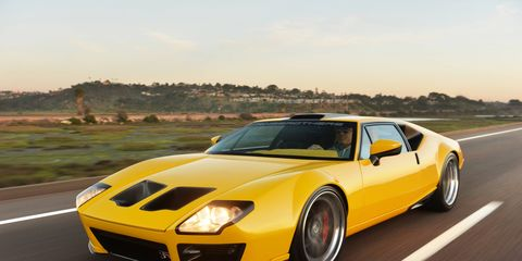 """The Ringbrothers De Tomaso Pantera """"ADRNLN"""" has captured the attention of enthusiasts around the globe since its debut at the 2013 SEMA Show."""