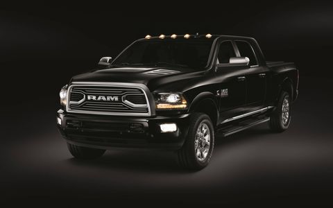 Available in the third quarter of 2017, Ram Limited Tungsten trim will be offered on the Ram 1500, Ram 2500 and Ram 3500 single- and dual-rear-wheel; Crew Cab and Mega Cab (Heavy Duty); four-wheel drive and two-wheel drive; and short- and long-wheelbase models.
